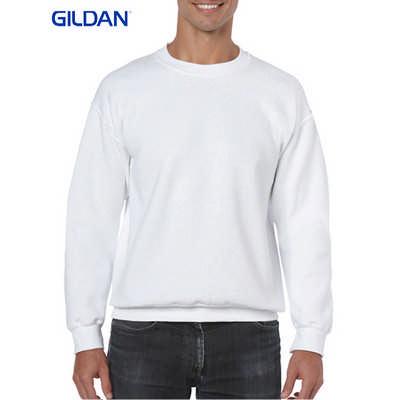 Gildan Heavy Blend Adult Crewneck Sweatshirt White